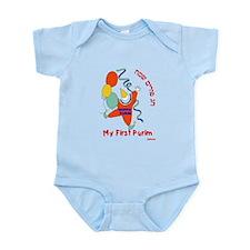 My First Purim Infant Bodysuit