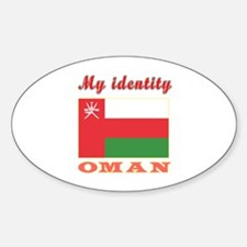My Identity Oman Decal