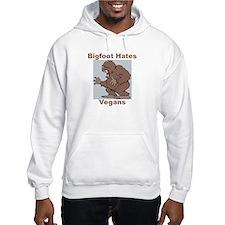 Bigfoot Hates Vegans Hoodie