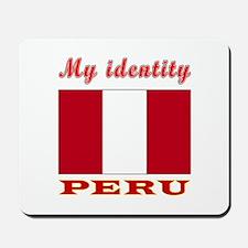 My Identity Peru Mousepad