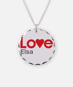 I Love Elsa Necklace