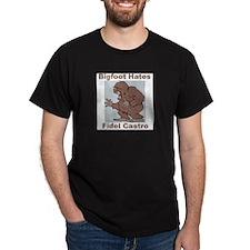 Bigfoot Hates Castro T-Shirt