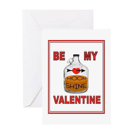 SHINE VALENTINE Greeting Card