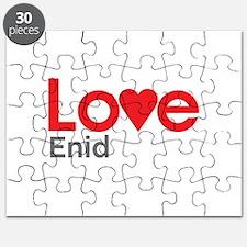 I Love Enid Puzzle