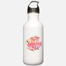 Happy Valentines Day Water Bottle