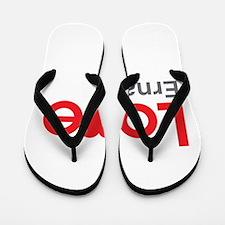 I Love Erna Flip Flops