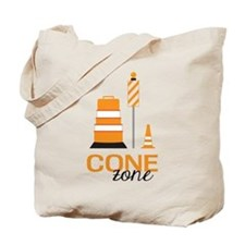 Cone Zone Tote Bag