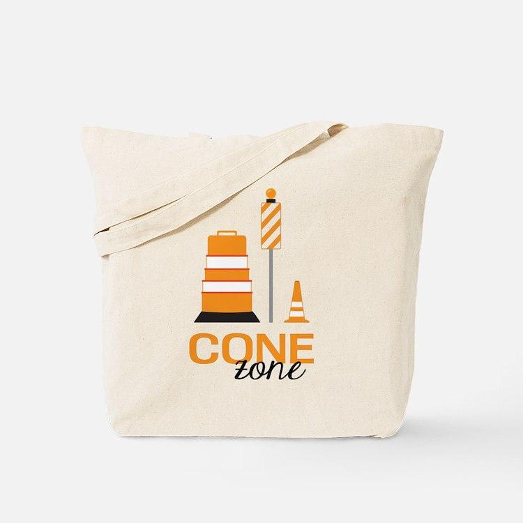 Cone Zone Tote Bag