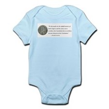 Abraham Lincoln Constitution quotation Body Suit