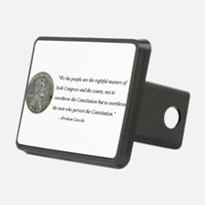 Abraham Lincoln Constitution quotation Hitch Cover