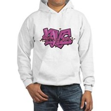 Funky Love Graffiti Jumper Hoody