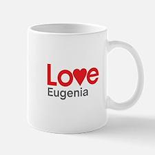 I Love Eugenia Small Mugs