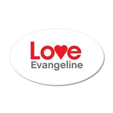 I Love Evangeline Wall Decal