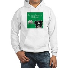 Do you really want to herd me? Hoodie