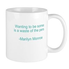 Marilyn Monroe Quotes Mug