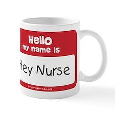 Name_tag_Hey_Nurse Mugs