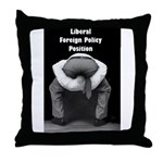Liberal Foreign Policy Throw Pillow