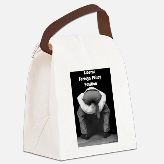 Liberal Foreign Policy Canvas Lunch Bag