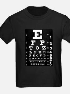Eye chart gift T