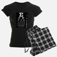 Eye chart gift Pajamas