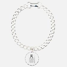 Eye chart gift Bracelet