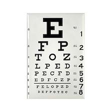 Eye chart gift Rectangle Magnet (100 pack)