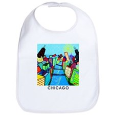 Baby's Chicago Riverview Bib