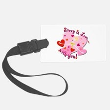 Dizzy in Love with You! Luggage Tag