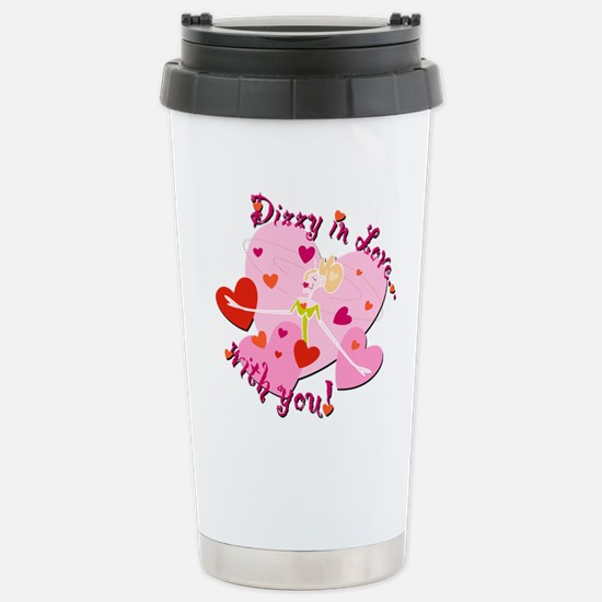 Dizzy in Love with You! Stainless Steel Travel Mug