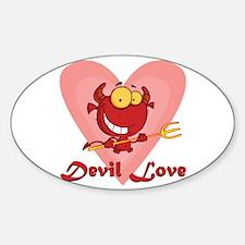 Devil Love Decal