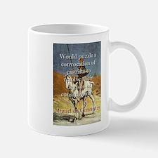 Would Puzzle A Convocation - Cervantes Mug