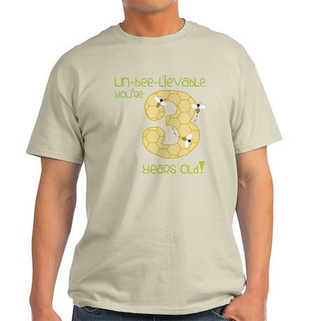 3 Year Old Honey Bee T-Shirt