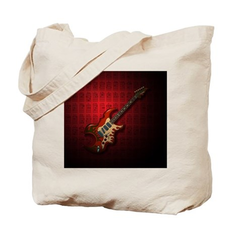 KuuMa Guitar 01 (R) Tote Bag