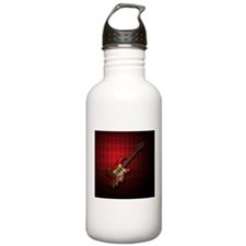 KuuMa Guitar 01 (R) Water Bottle