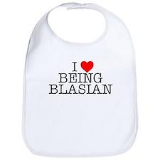 """I Love Being Blasian"" Bib"