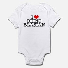 """I Love Being Blasian"" Infant Bodysuit"