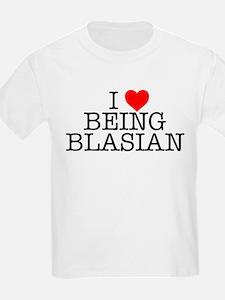 """I Love Being Blasian"" Kids T-Shirt"