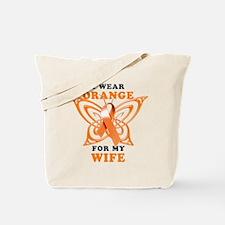 I Wear Orange for my Wife Tote Bag