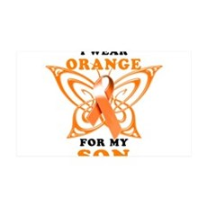 I Wear Orange for my Son Wall Decal