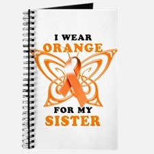 I Wear Orange for my Sister Journal