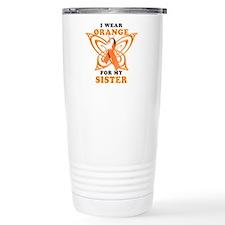 I Wear Orange for my Sister Travel Mug
