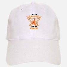 I Wear Orange for my Niece Baseball Hat