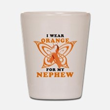 I Wear Orange for my Nephew Shot Glass