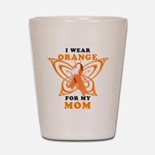 I Wear Orange for my Mom Shot Glass