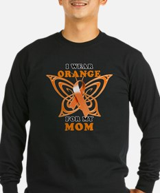 I Wear Orange for my Mom Long Sleeve T-Shirt