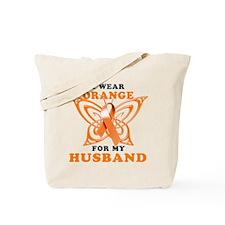 I Wear Orange for my Husband Tote Bag
