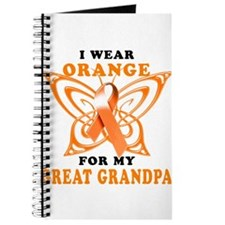 I Wear Orange for my Great Grandpa Journal