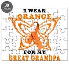 I Wear Orange for my Great Grandpa Puzzle