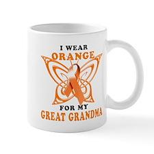 I Wear Orange for my Great Grandma Mug
