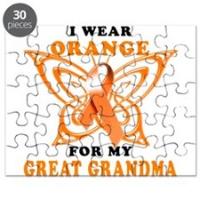 I Wear Orange for my Great Grandma Puzzle